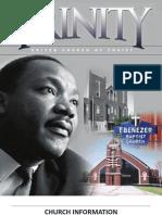 Trinity Bulletin 1 22 11