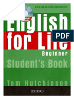 343121072 01 English for Life Beginner Student Book PDF OCR