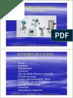 Sensores de caudal InstRUMENTACION electronica