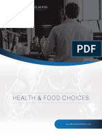 Health science and food choices PTC March 2019