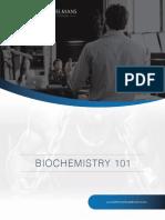 Biochemistry 101 PTC October 2019