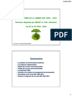 Formation ISO 14001 -JUIN 2018