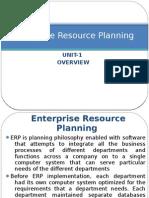 ERP Unit1