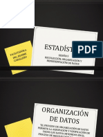 ORGANIZACIÓN DE DATOS ESTADISTICOS