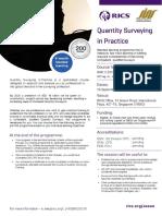 SISV-RICS QS in Practice Brochure_SG_Sep19-May20_Latest Brochure