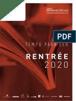 Rentree 2020 Grupo BertrandCirculo