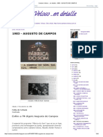 Caetano Veloso ...en detalle._ 1983 - AUGUSTO DE CAMPOS