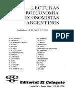 Lecturas de microeconomía por economistas argentinos