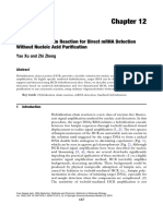 Hybridization Chain Reaction for Direct mRNA Detection without nucleic acid purification