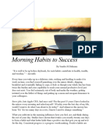 Morning Habits to Success