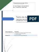 importância educacional da leitura e estratégias para a sua promoção - texto de apoio módulo 9 TPIE