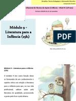 Literatura para a Infância - propostas de trabalho módulo 9 TPIE