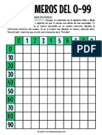 JUEGO NÚMEROS 0-99