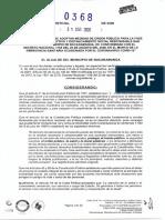 Decreto 0368 Medidas Fase Aislamiento Selectivo