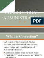 CORRECTIONAL ADMINISTRATION2019