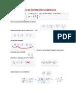 REPASO DE OPERACIONES COMBINADAS C5 - T1