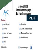 Agilent 6850 GC Service Manual