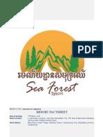 Factsheet-Sea Forest Resort.doc