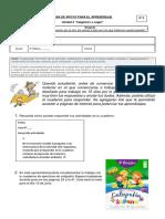 Guía 8 Unidad 2  Adjetivos - Ortografía