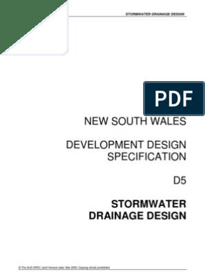 D5_Stormwater_Drainage_Design | Flood | Surface Runoff