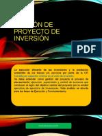 &&GESTIÓN DE PROYECTO DE INVERSIÓN$$DIAPO