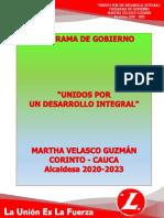 CORINTO. PLAN DE GOBIERNO UNIDOS POR UN DESARROLLO INTEGRALl.pdf