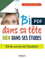 Michal Benedick -  Bien Dans Sa Tete Bien Dans Ses Etudes FR