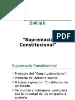 Bolilla II SUPREMACIA CONSTITUCIONAL