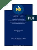DISCURSO PEDAGÓGICO PRACTICAS grupo 3