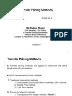 3.Transfer Pricing Methods (Sheet No-3)