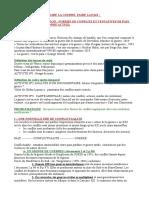 INTRODUCTION FORMES DE CONFLITS ET TENTATIVES DE PAIX DANS LE MONDE ACTUEL