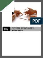 manual 5442-métodos e práticas de negociação