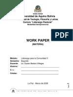 Work paper