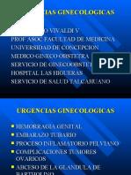 Urgencias ginecológicas - Dr. Vivaldi