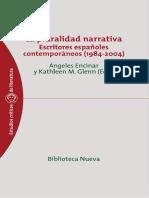 La pluralidad narrativa escritores españoles contemporáneos (198.pdf