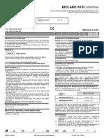 BIOLABO A1-B Calibrants et contrôles 2