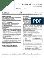 BIOLABO A1-B Calibrants et contrôles 1