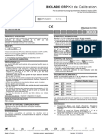 BIOLABO CRP Calibrants et contrôles 1