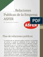 Plan de Relaciones Publicas