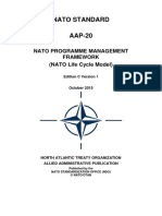 AAP-20 NATO Life Cycle Model-Ekim 2015