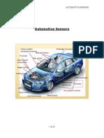 Assignment - Automotive Sensors 20-Mar-10