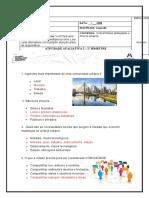 AV2 - Geografia area urbana