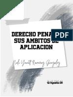 DERECHO PENAL Y SU ÁMBITO DE APLICACIÓN