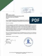 Informe de gastos de campaña de Gonzalo Castillo