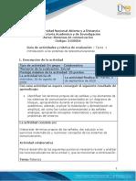 Guía de actividades y rúbrica de evaluación - Unidad 1 - Tarea 1 - Introducción a los sistemas de telecomunicaciones