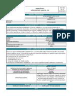 FTSN-003 Hipoclorito de sodio al 15%