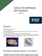 2020-08-26 Introducción a la metalurgia del Aluminio
