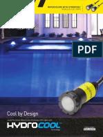 SL3367 Jandy WaterColors Nicheless LED Lights with HydroCool Sell Sheet