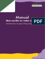 Manual - Qué escribo en las redes sociales.pdf