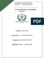 TAREAS LEGISLACION UNIDAD2